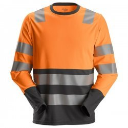 2433 AllroundWork, Hi-Vis Long Sleeve T-Shirt CL2